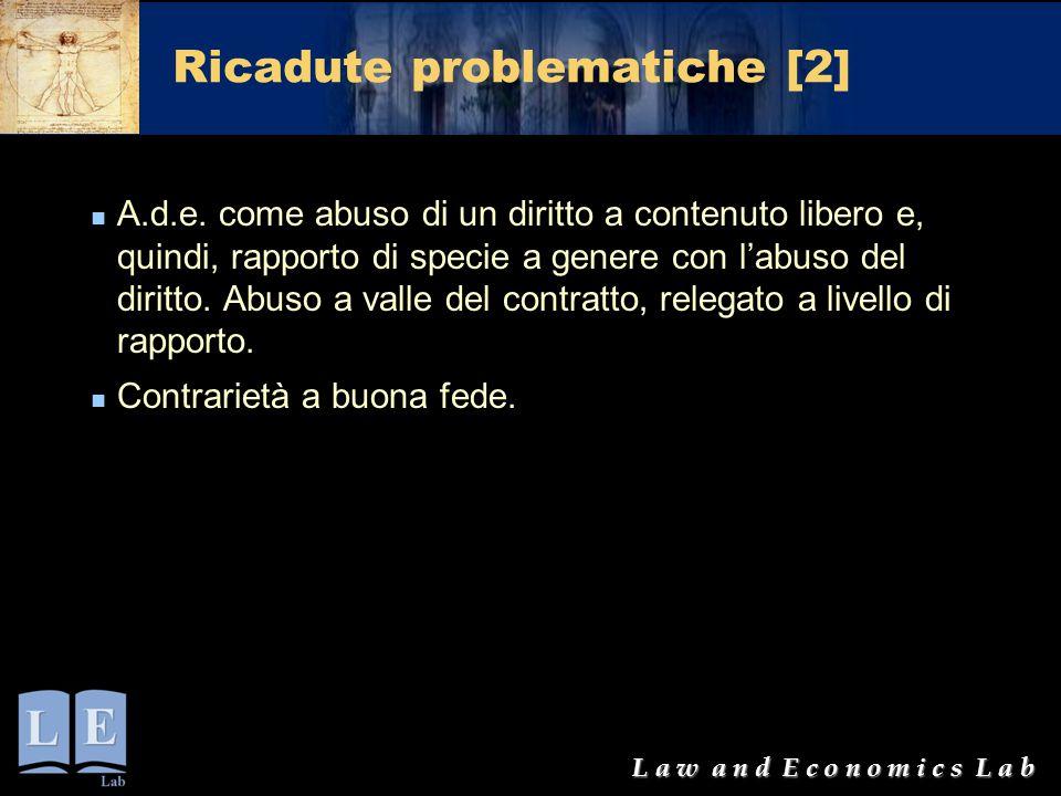Ricadute problematiche [2]